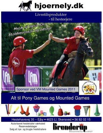 Pony og Mountedgames