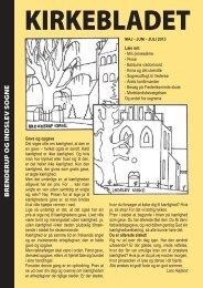 KIRKEBLADET - Brenderup Indslev Kirke