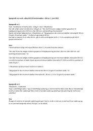Spørgsmål svar vedr. udbud 50.32 Kontormøbler – Øst pr. 1. juni ...