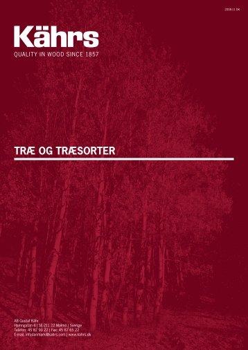 TRÆ OG TRÆSORTER - Kährs