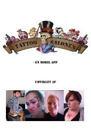 Tattoo Salonen – En Mobil App - Gruppe 8