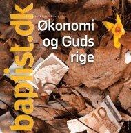 ‹ Nr. 3 ›‹ 2009 ›‹ 156. årgang › - Baptistkirken i Danmark