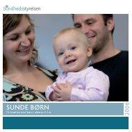 Sunde børn, 9. udgave - Sundhedsstyrelsen