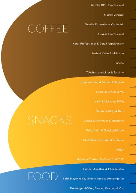 Coffee Snacks Food - IKA.dk