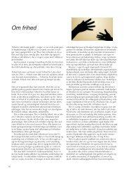 Om frihed - Friskolebladet
