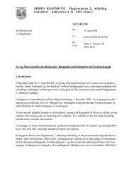Word Pro - Dokument i Udtalelsespåtegning - Velkommen til Århus ...