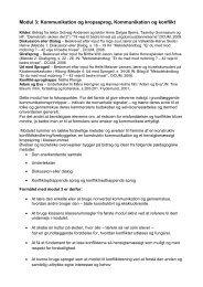 Modul 3 Kommunikation rev.27.9.10 2.udgave - Kongsholm ...