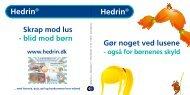 Hedrin® Hedrin® - Norpharma.dk
