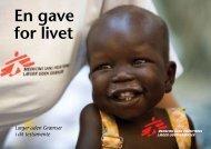 En gave for livet - Læger uden Grænser