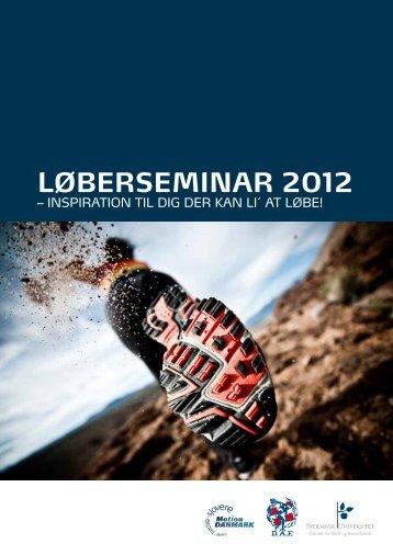Løberseminar 2012 - Motion Danmark