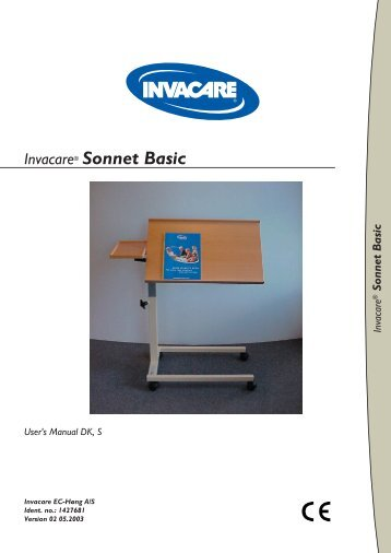 Sonnet Basic - Book.indb - Invacare