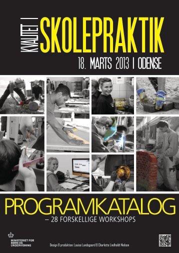 programkatalog med beskrivelser af de enkelte ... - Skolepraktik.dk