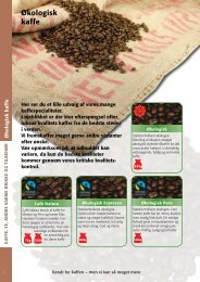 Økologi/fairtrade - MENY kaffe
