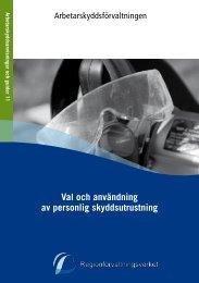 AAG_11 Val och användning av personlig skyddsutrustning