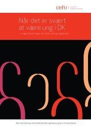 Når det er svært at være ung i DK – unges beretninger om mistrivsel ...