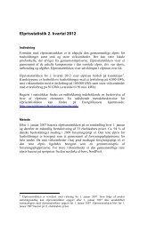 Elprisstatistik 2. kvartal 2012 - Energitilsynet