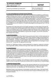Evaluering af aktiviteter og events 2010.pdf - Gladsaxe Kommune