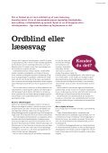 Ordblind eller læsesvag - Forside | kenderdudet.dk - Page 6