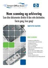 Scan dine dokumenter direkte til den rette ... - Smart Office Scan