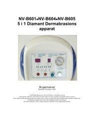 NV-B601-605 - DK manual.pdf - Nyt Smil