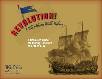 A Resource Guide for History Teachers of Grades 6-12 - New-York ...