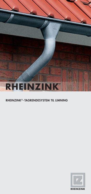 RHEINZINK® -TAGRENDESYSTEM TIL LIMNING ... - VVS-Eksperten