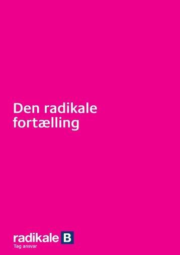 Den radikale fortælling - Radikale Venstre