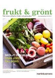 Frukt & Grönt - Martin & Servera