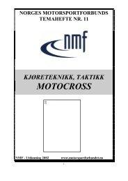 Temahefte Motocross - Alta SSF