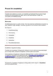 SDE-Proces for ansættelse - Syddansk Erhvervsskole