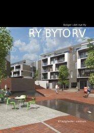 1 Boliger i det nye Ry 67 lejligheder i centrum - Ry Bytorv