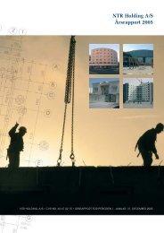 Årsrapport 2005 - NTR Holding