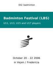 Badminton Festival (LBS)