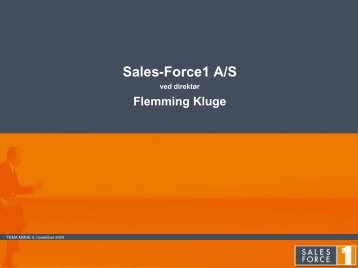 Sales-Force1 A/S