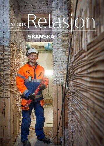 relasjon 1 2013-web - Skanska