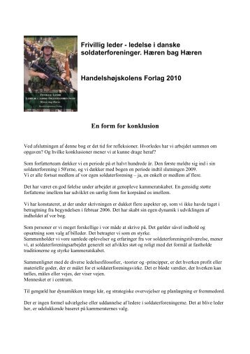 konklusionen - Per Svensson, Frederiksberg