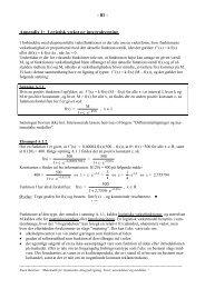 Appendices, opgavesamling og stikordsregister - Uvmat
