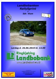 Landbobanken RallySprint - Dansk Automobil Sports Union