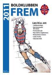 Medlemsblad nr. 2 - 2011 - Boldklubben FREM