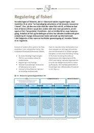 Kapitel 9 - Regulering af fiskeriet (pdf - 70 Kb) - Fiskericirklen