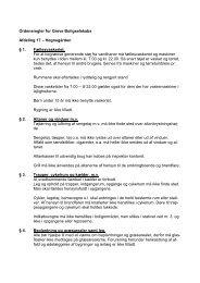 Vedtagne regler - Greve Boligselskab