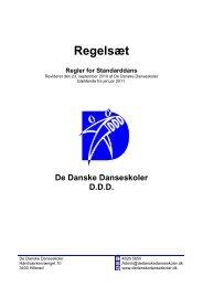 Standard januar 2011 - De Danske Danseskoler