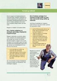 Arbejdsplads brugsanvisninger - AMS-Miljø