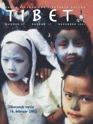 Tibet, 47, 2001 - Dansk Selskab for Tibetansk Kultur