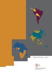 Årsrapport 2004.indd - Ulandssekretariatet