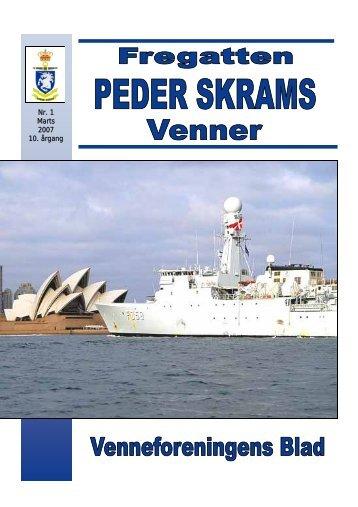 Blad nr. 1 marts 2007 - Fregatten PEDER SKRAMs venner