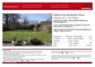 Salgsopstilling for KGY0411 - RobinHus