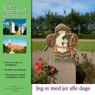 nr 6 for Oktober - november 2007 - Voer og Agersted Sogne