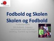 Projekt 1 - SGI-Fodbold