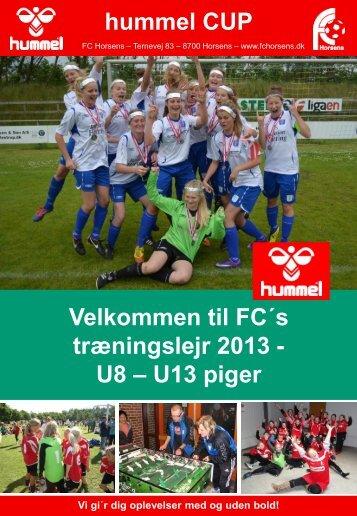 Download turneringsprogrammet(version 6) her - FC Horsens
